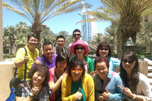 杜拜極峰會議合影-3