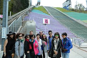 0411奧地利-奧運跳雪台餐廳合影-南區同仁-1