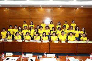 小組研討2-關主名蔚總監與秋碧部經理和組員合照