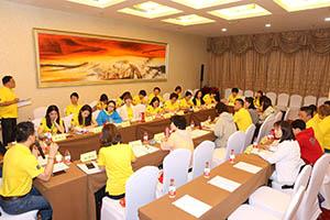 小組研討2-關主沛綺總監與程洁籌備總監側拍