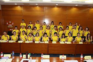 小組研討2-關主秋蓮總監與宥天總監和組員合照
