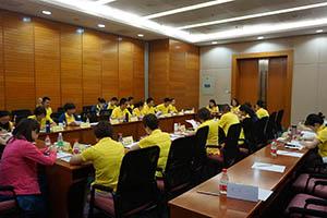 小組研討2-關主淑儀總監與唐鳳部經理側拍