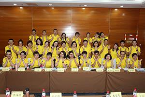 小組研討2-關主翠芳總監與美云總監和組員合照