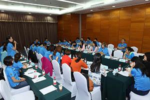 小組研討-關主建華總監與文山總監側拍