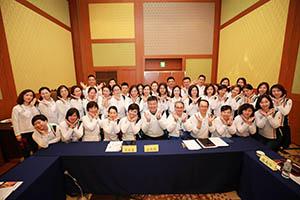 小組研討-關主秋蓮總監與俊德總監和組員合照