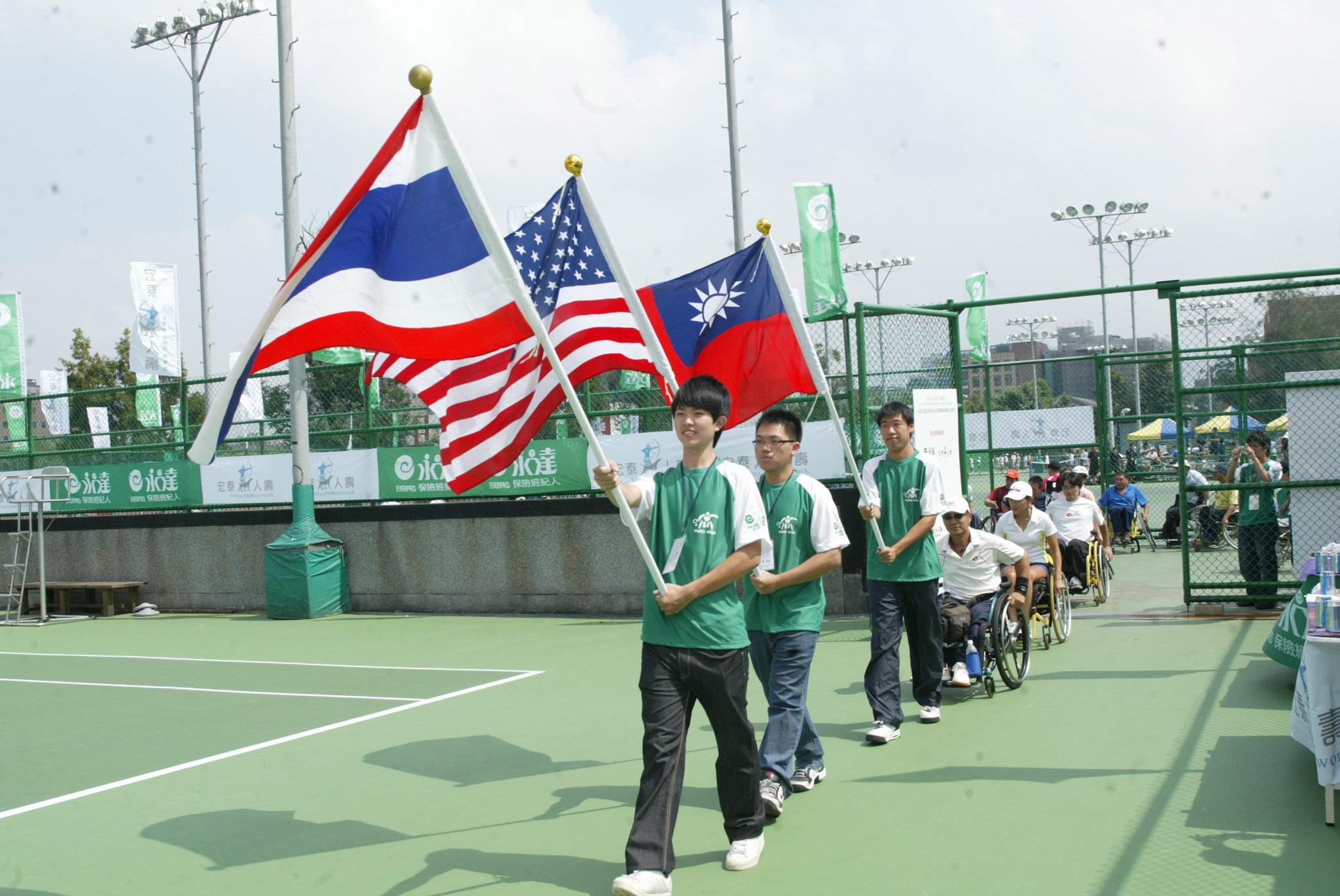 ▲各國選手代表入場。