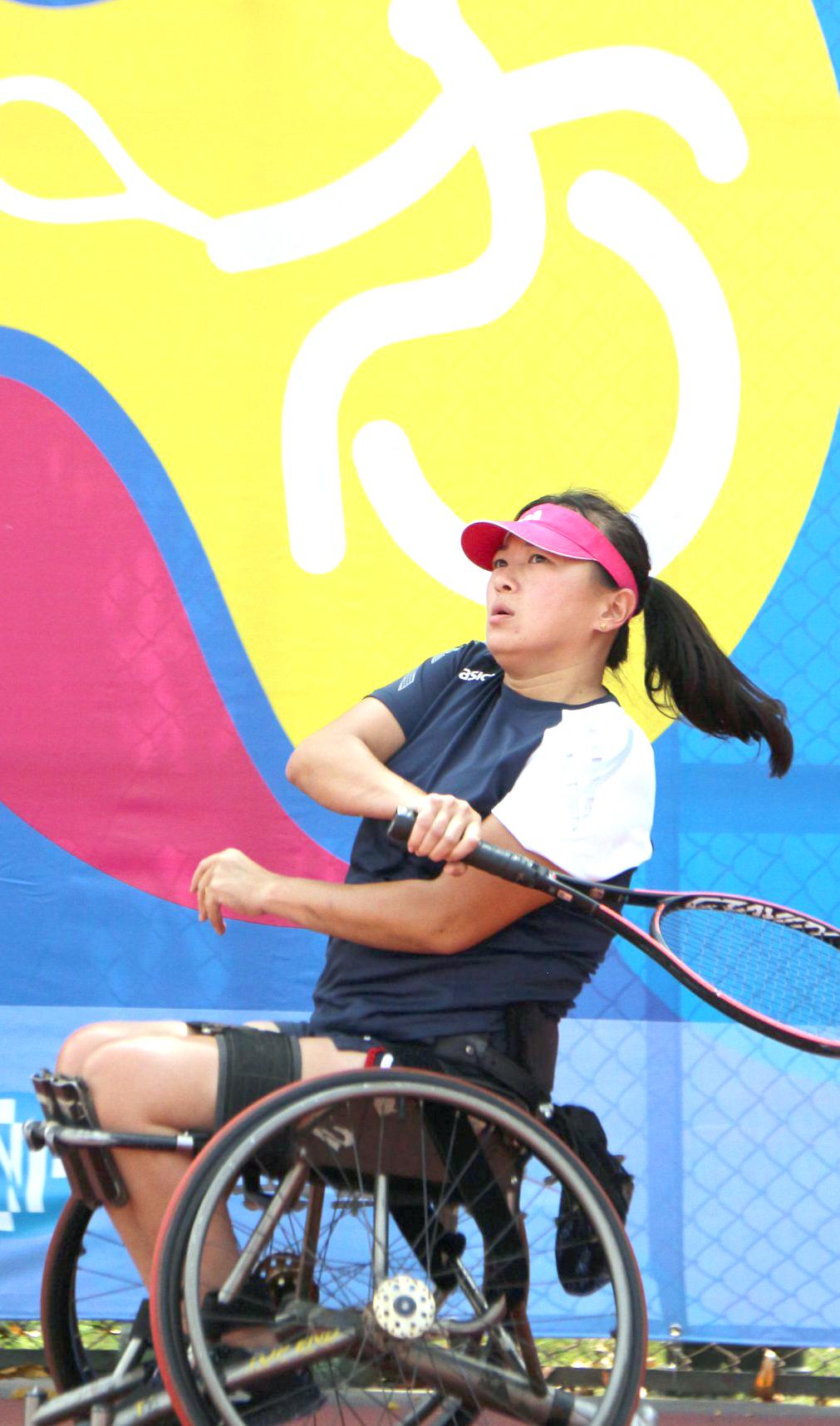 「2020永達盃高雄國際輪椅網球公開賽」吸引許多頂級選手參賽。