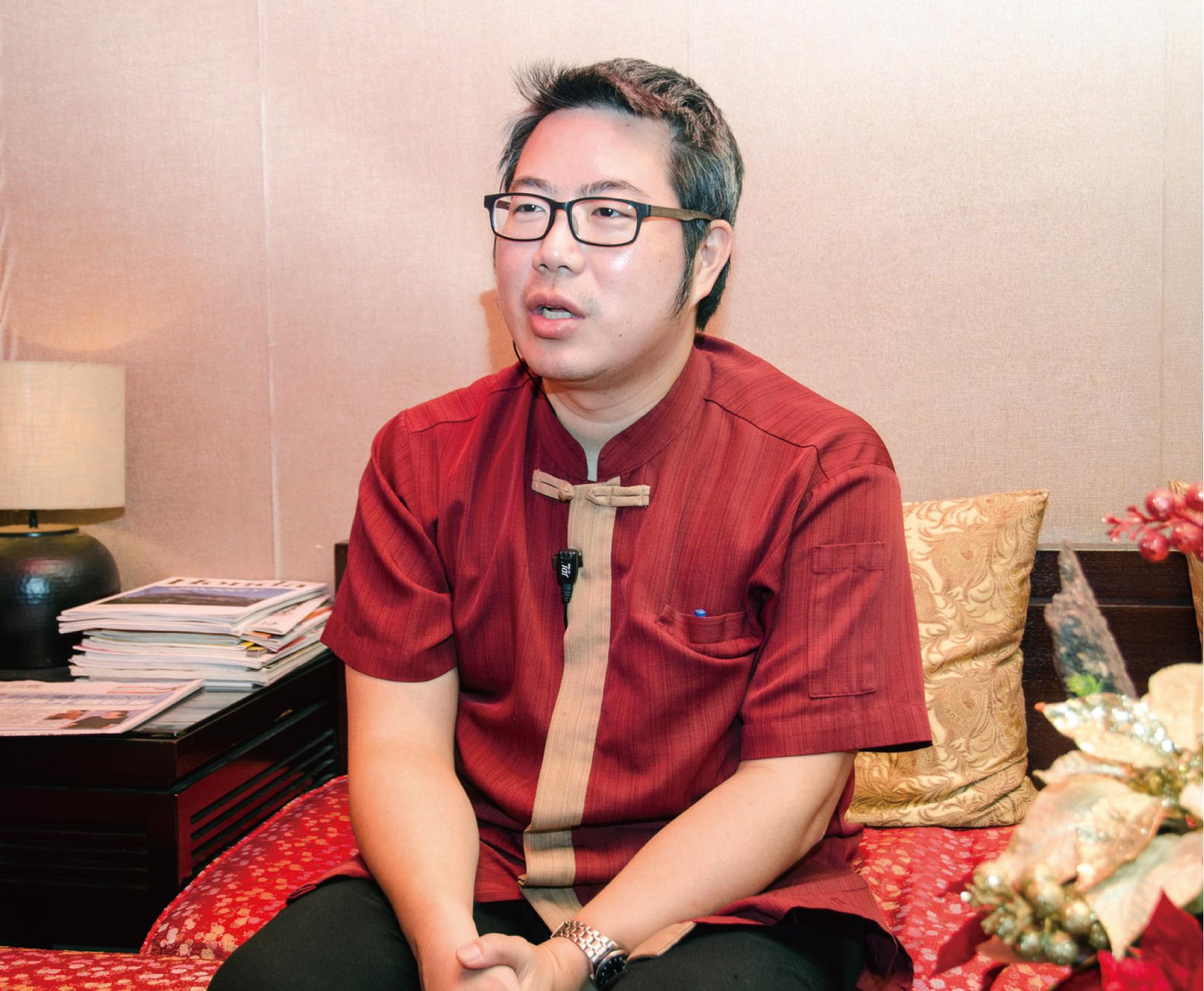溢香園第二代經營者裘嘉倫暢談餐廳「慢工出細活」的堅持。