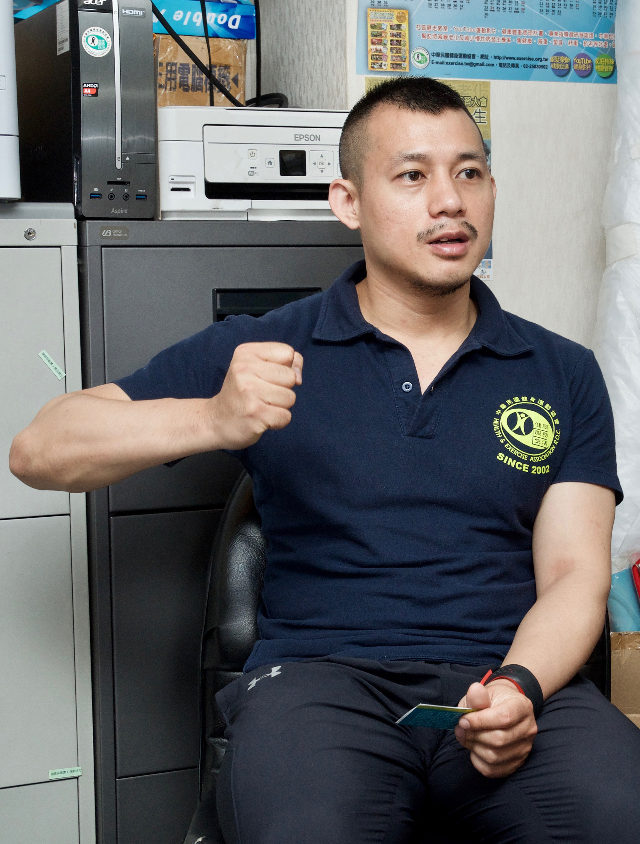 專訪中華民國健身運動協會副秘書長 李毅涵教練。