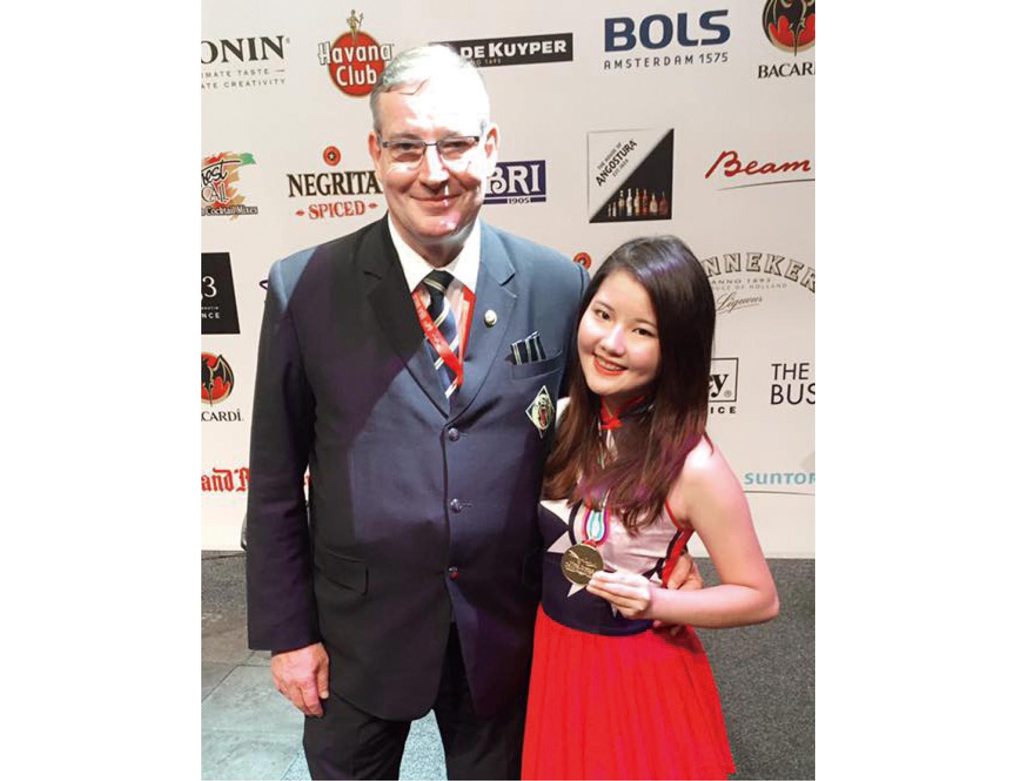 獲得第64屆IBA 世界盃調酒大賽傳統調酒餐後酒組金牌。
