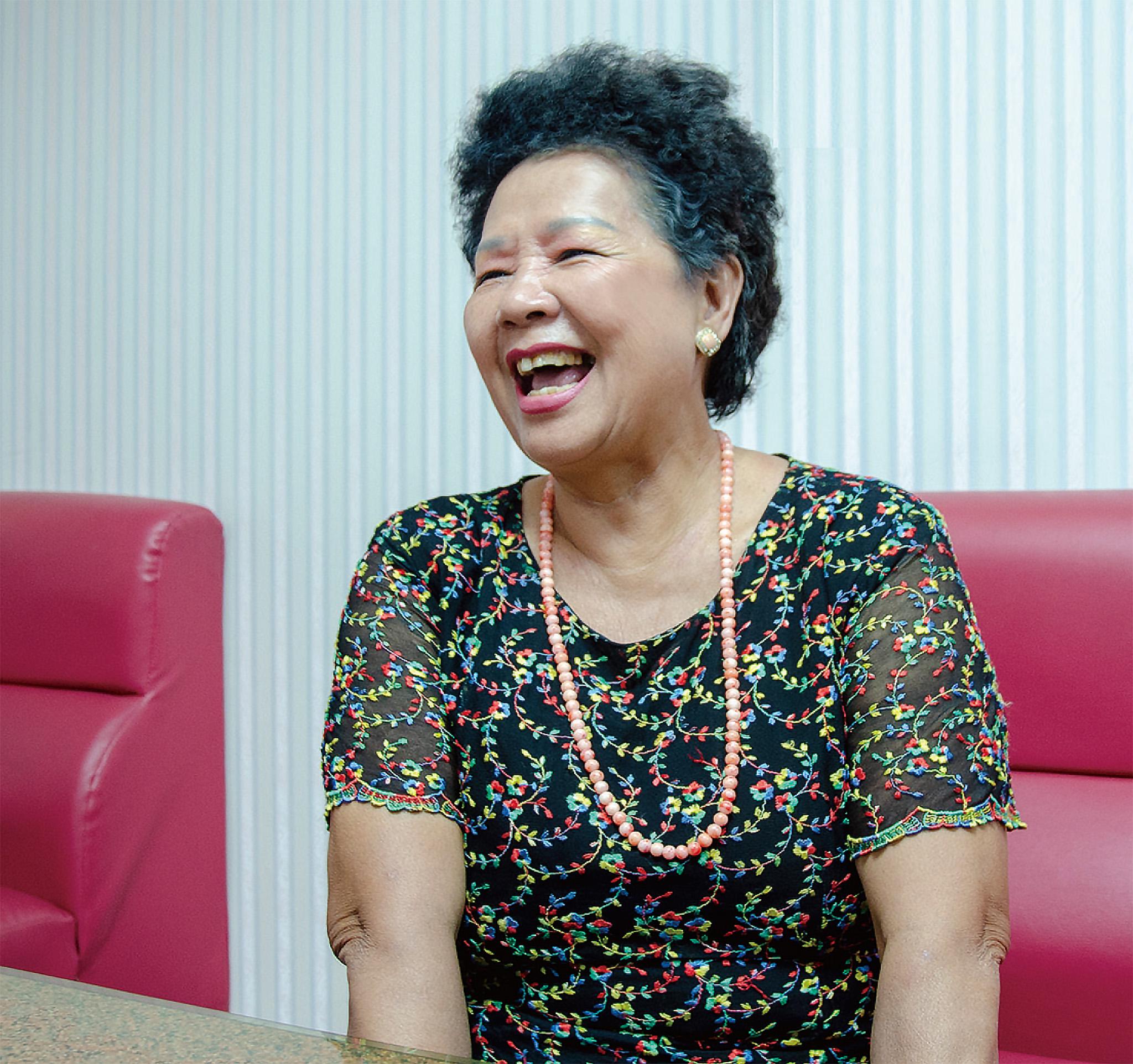 林彩葉熱心社區服務,出馬競選新生里里長。