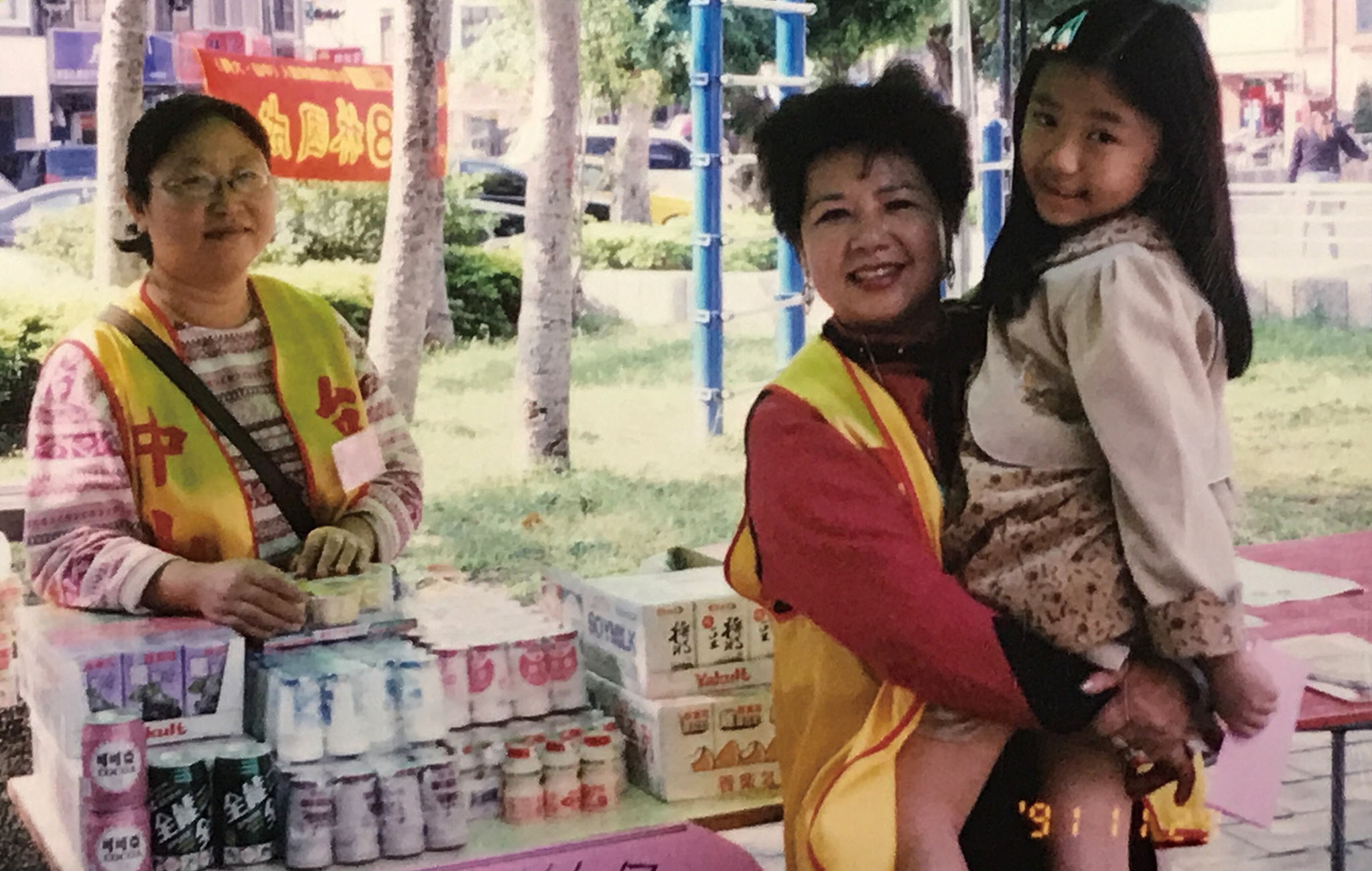 林彩葉多年關懷協助孤兒院兒童。