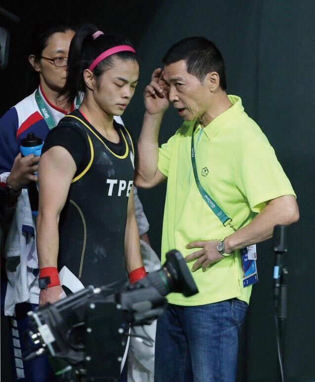 蔡溫義教練對許淑淨影響極深。
