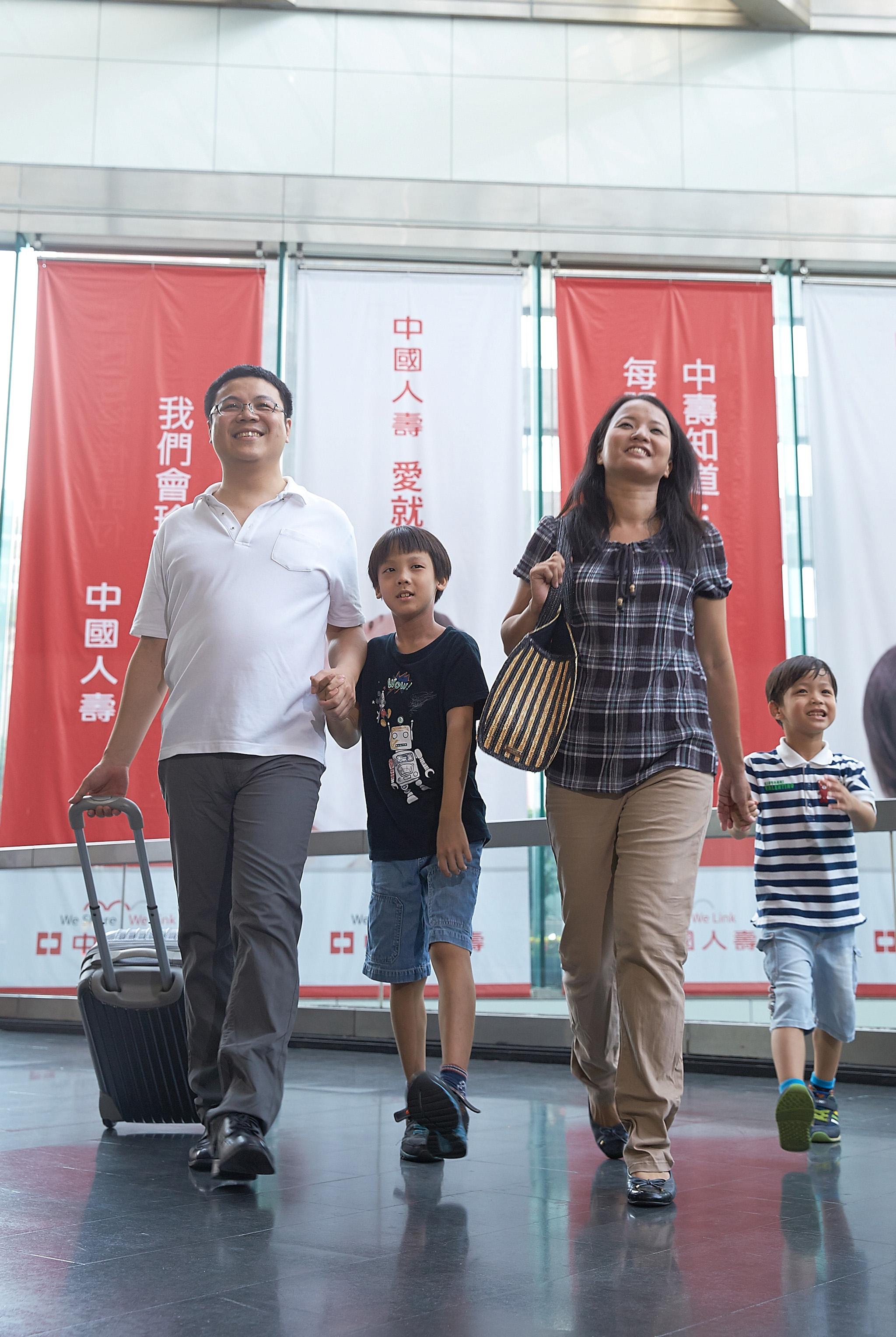 假期出遊,中國人壽建議規劃旅程勿忘旅行平安險。