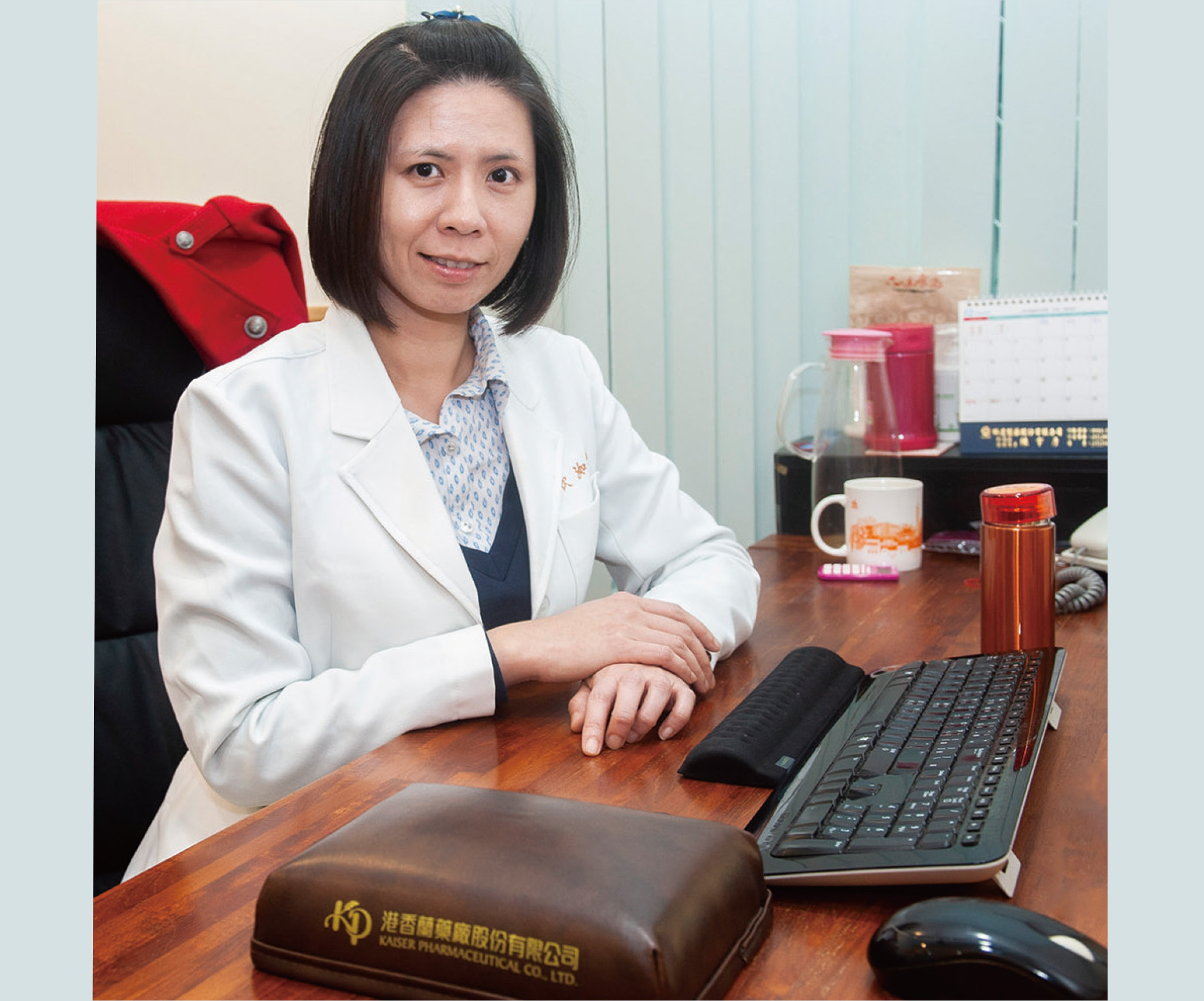 吳欣洳醫師擁有社工背景,提供最貼心的問診服務。