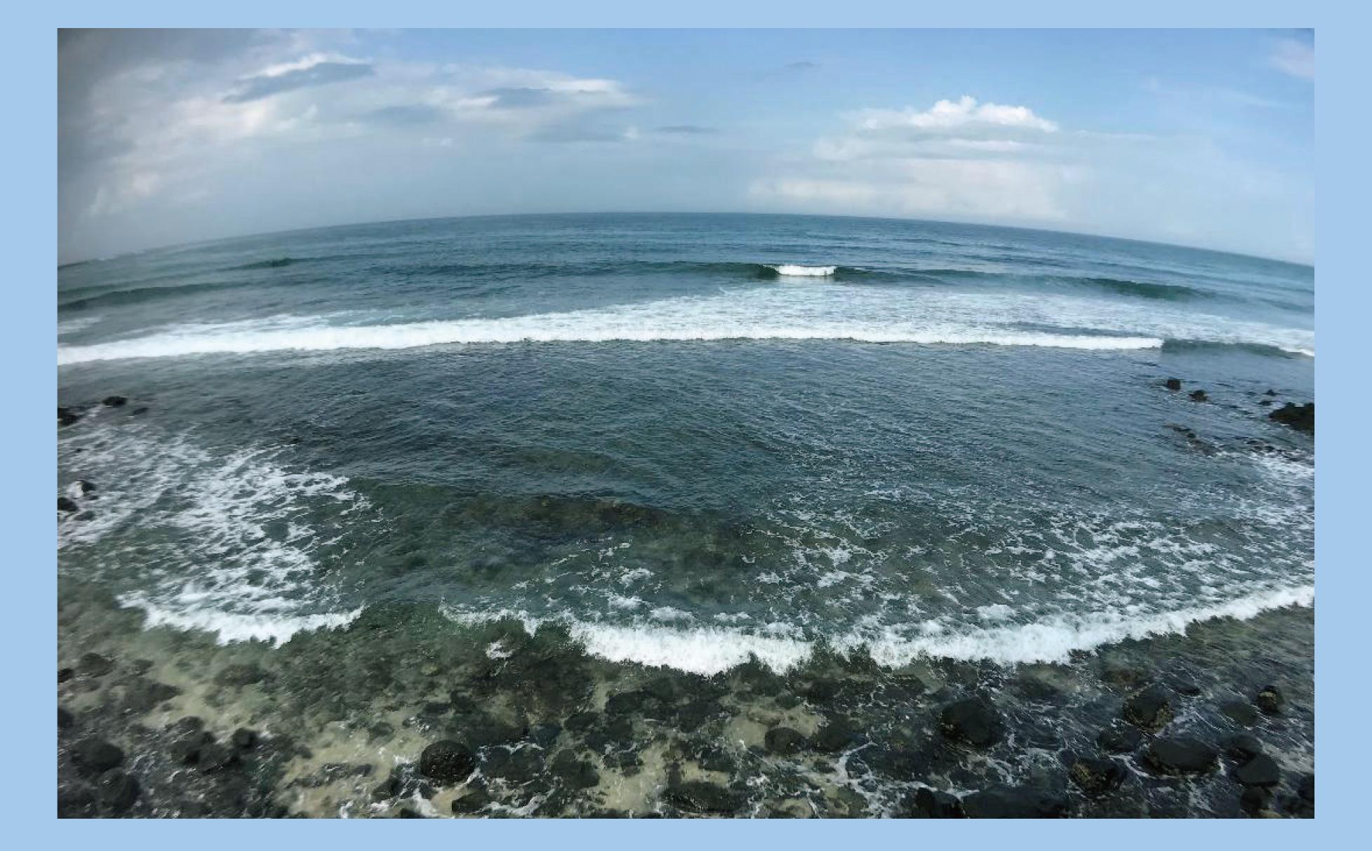 七美島美麗海岸線。