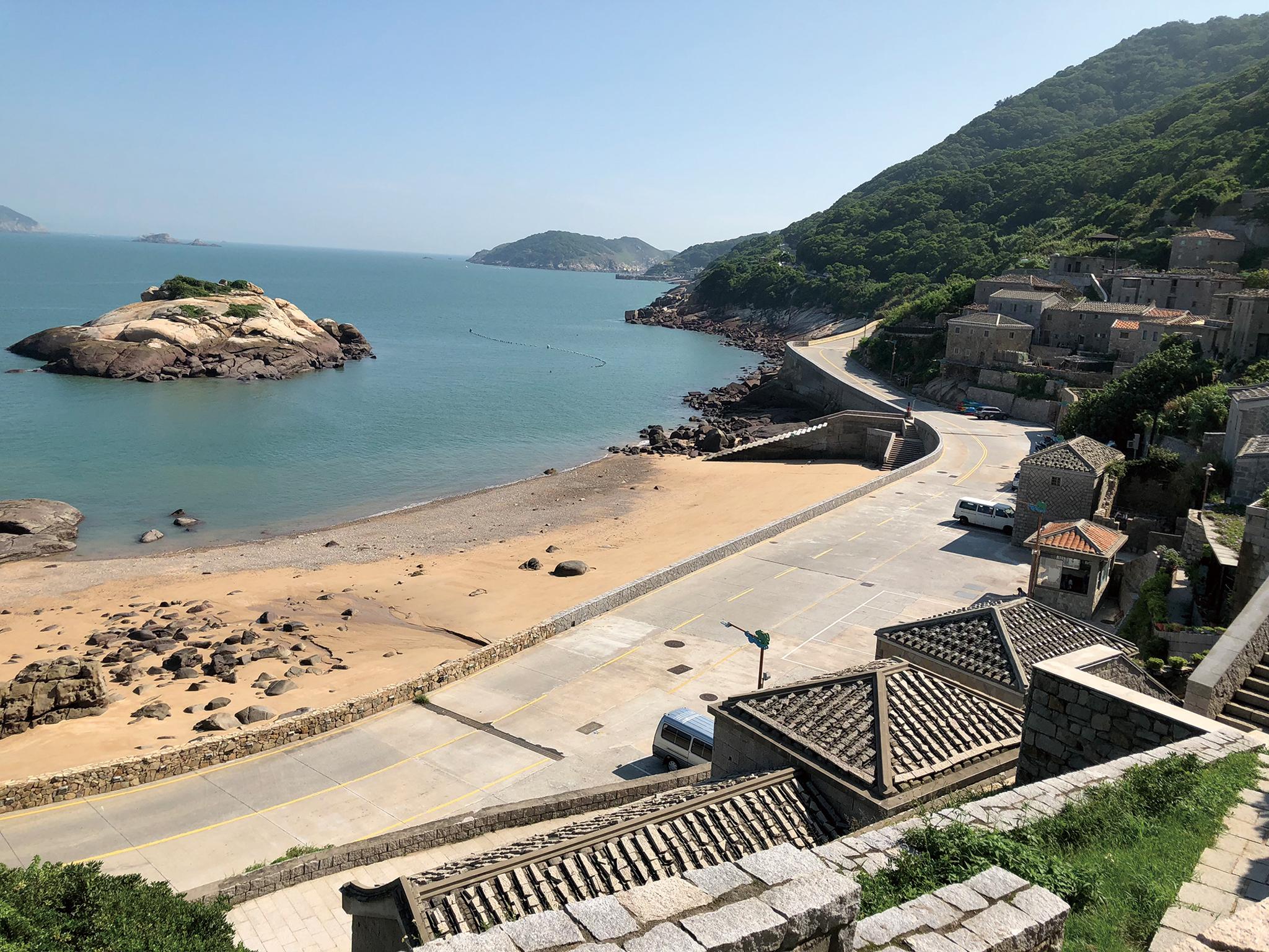 芹壁村有馬祖地中海的美譽,是北竿島必訪景點。