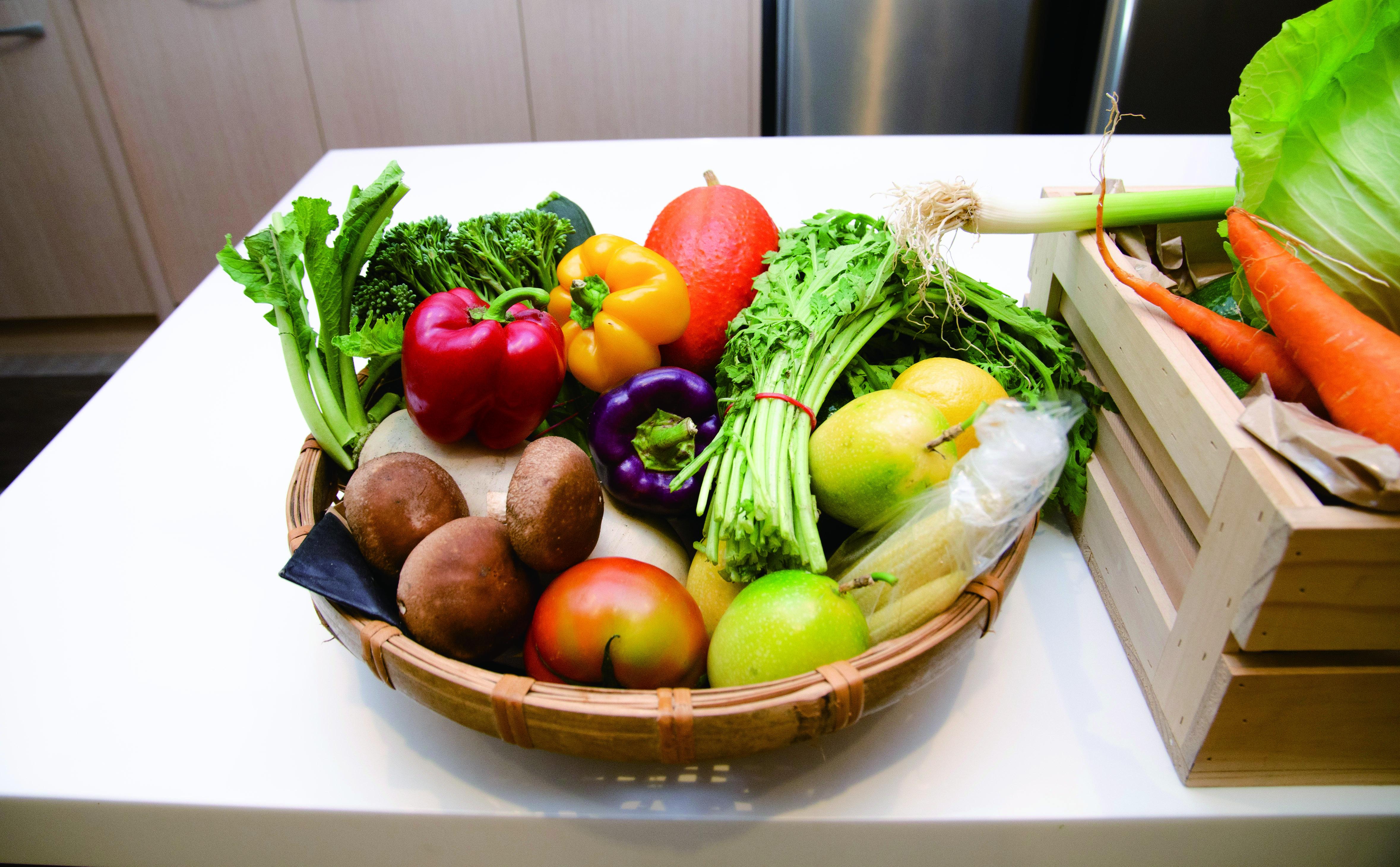 養成良好的飲食習慣,多吃蔬菜水果,降低罹癌風險!