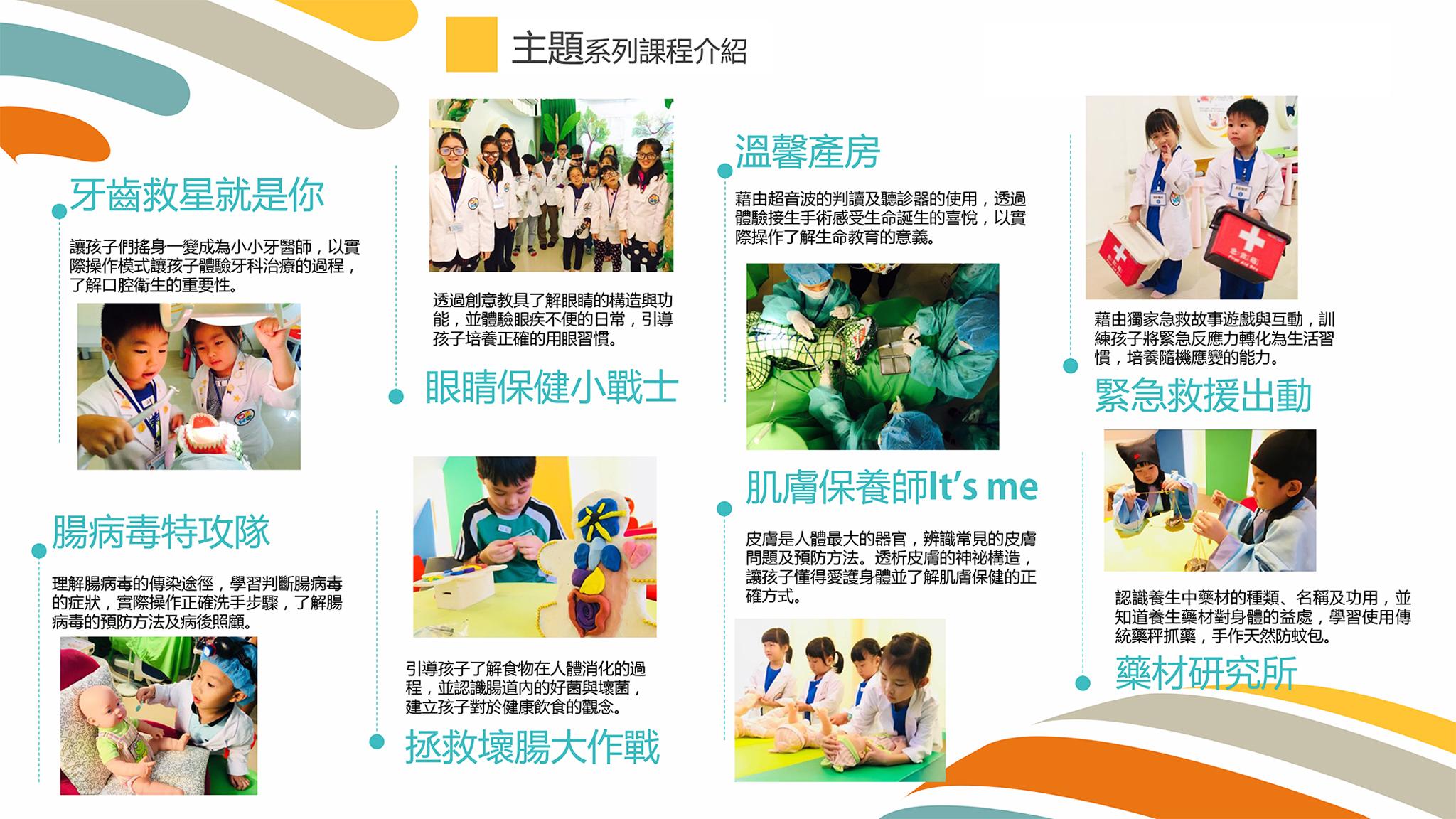 「OKME醫遊館」推出一系列主題課程。