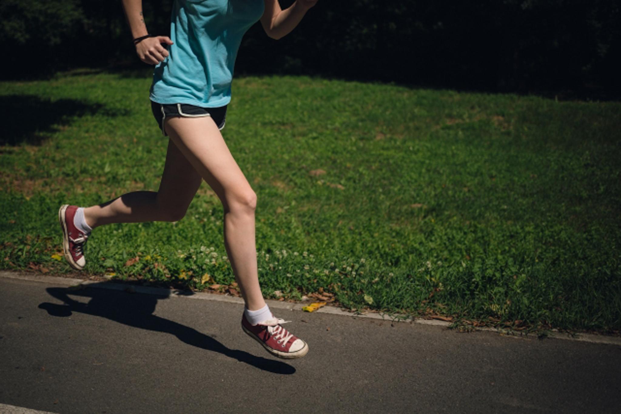 只要穿著輕便服裝、運動鞋,就可以開始健走!