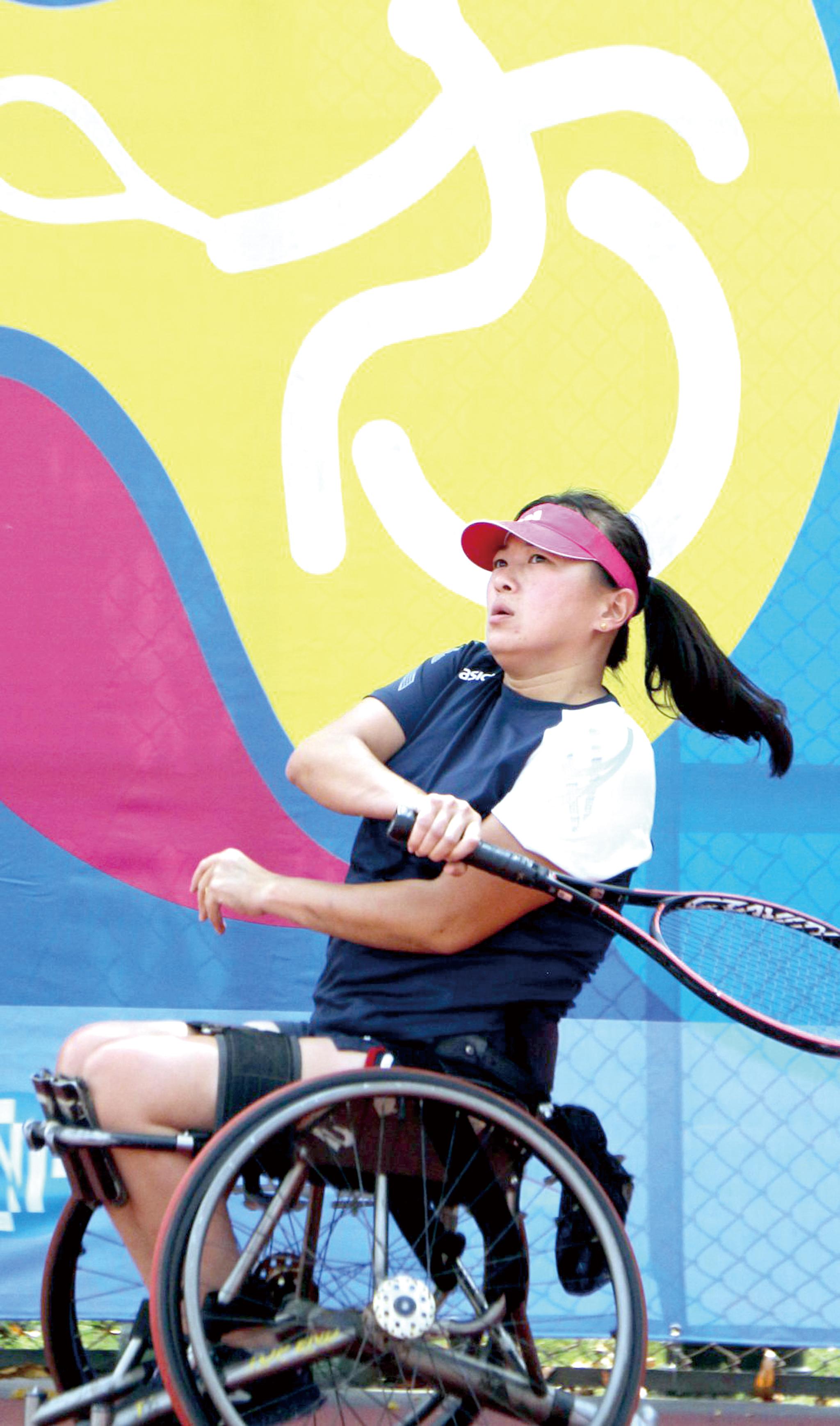 「二○二○永達盃高雄國際輪椅網球公開賽」吸引許多頂級選手參賽。