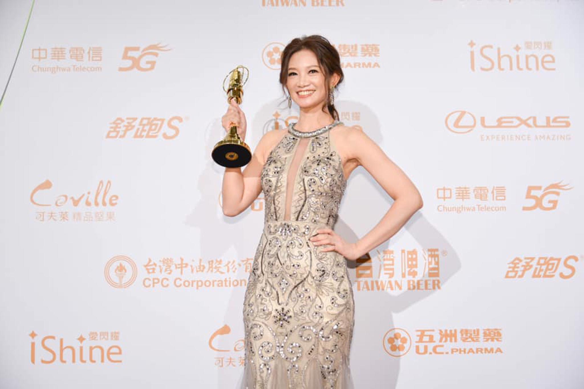 吳奕蓉奪下2020年金鐘獎迷你劇集電視電影最佳女主角。