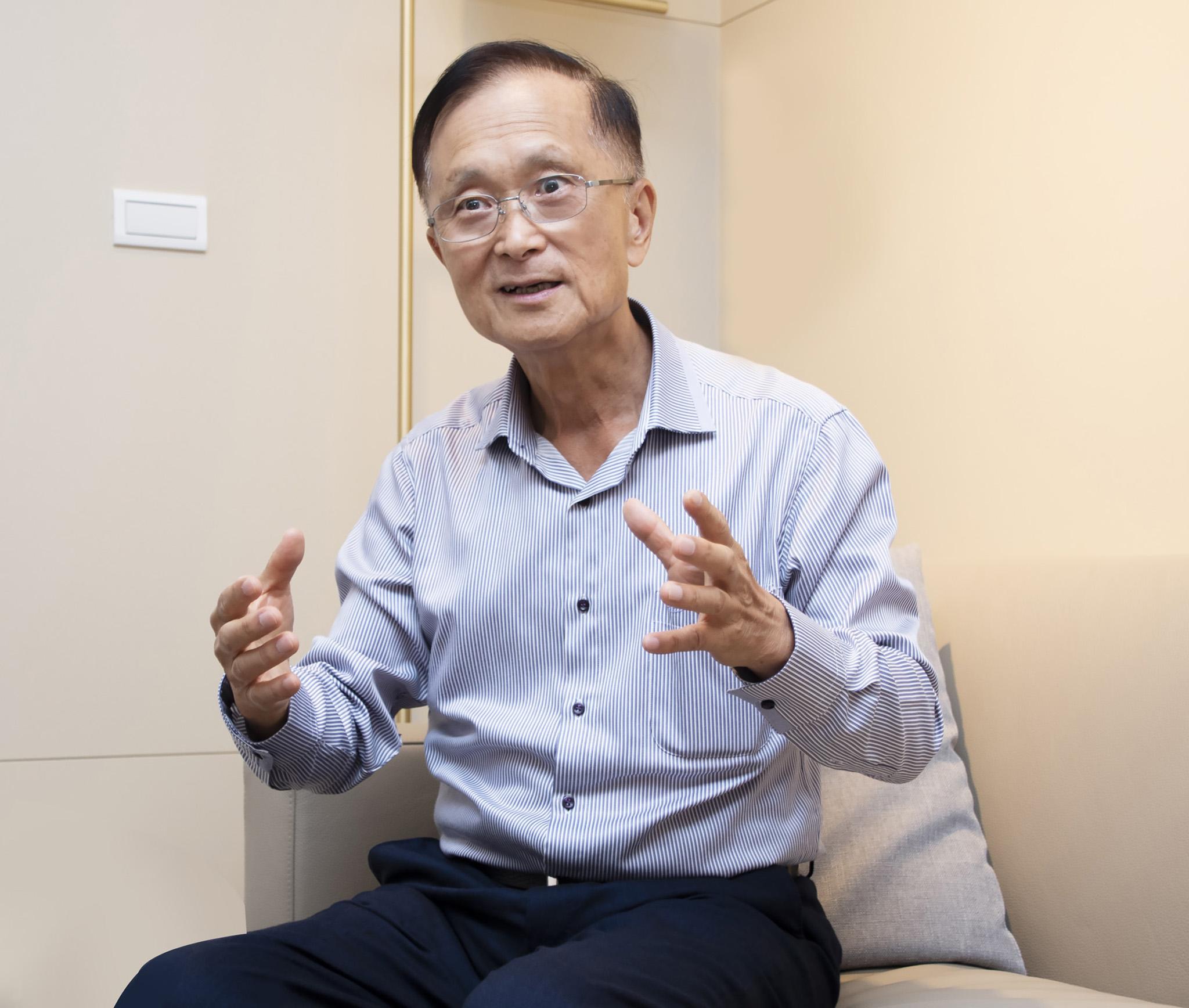 謝慶源會長暢談下階段的人生目標,堅持手心向下,持續付出。